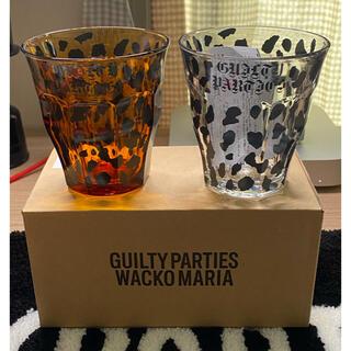 WACKO MARIA - 新品未使用 WACKOMARIA 2色 レオパード グラス ×2