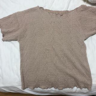 カスタネ(Kastane)のkastaneのヘムTシャツ(Tシャツ(半袖/袖なし))