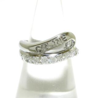 celine - セリーヌ リング美品  Pt900×ダイヤモンド