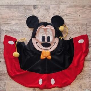 ミッキーマウス(ミッキーマウス)の☆美品☆ ミッキー ポンチョ Disney resort ハロウィン(おくるみ/ブランケット)