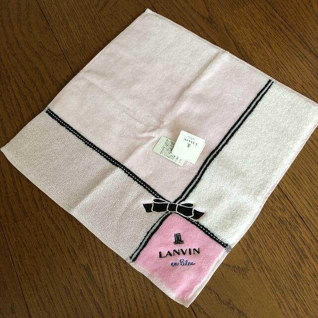 LANVIN(ランバン)のLANVIN ハンドタオル レディースのファッション小物(ハンカチ)の商品写真