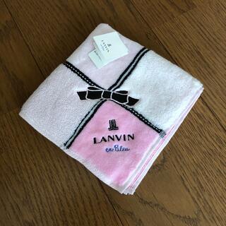 LANVIN - LANVIN ハンドタオル