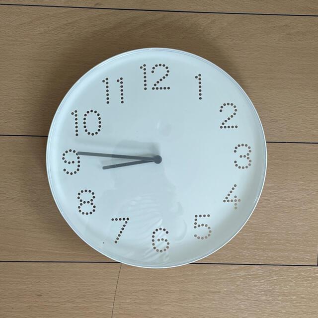IKEA(イケア)のIKEA 壁掛け時計 トロマ インテリア/住まい/日用品のインテリア小物(掛時計/柱時計)の商品写真
