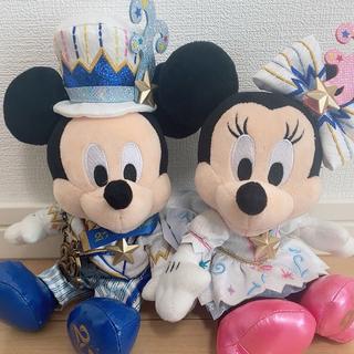 Disney - ディズニー 20周年 ミッキーミニー ぬいぐるみ