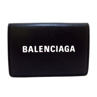 Balenciaga - バレンシアガ Wホック財布美品  505055 黒