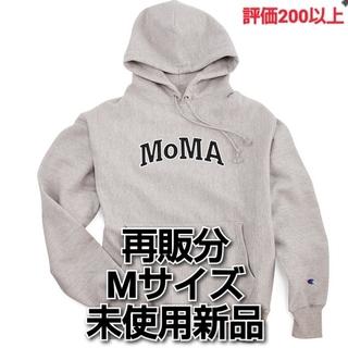 モマ(MOMA)のChampion MoMA限定フーディー Mサイズ(パーカー)