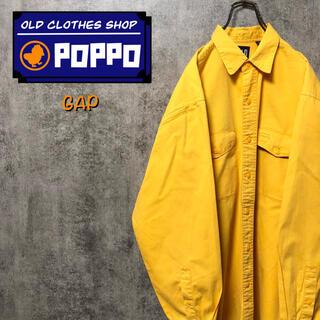 ギャップ(GAP)のオールドギャップGAP☆フラップ付きダブルポケットチノワークシャツ 90s(シャツ)