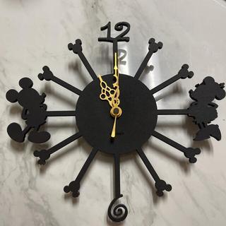 Disney - ディズニー かけ時計 ジャンク品