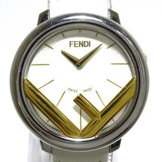 フェンディ(FENDI)のフェンディ 腕時計 ラナウェイ 71000S 白(腕時計)