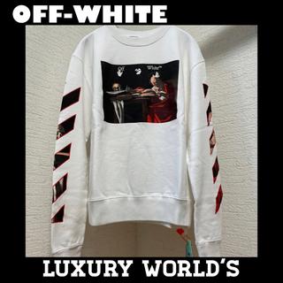 オフホワイト(OFF-WHITE)の国内正規品 新品完売 21SS オフホワイト カラバッジョ スリムクルーネック(スウェット)
