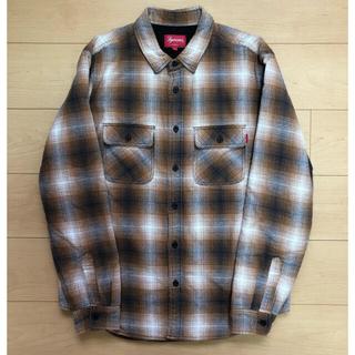 Supreme - 16AW Supreme Quilted Shadow Plaid Shirt