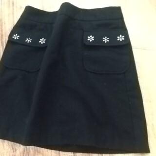 ジーユー(GU)の⭐️GU スカート ブラック Lサイズ GU ジーユー(ミニスカート)