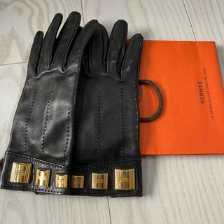 エルメス(Hermes)のエルメス 手袋 グローブ サイズ7(手袋)