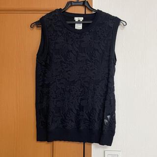 ダブルスタンダードクロージング(DOUBLE STANDARD CLOTHING)のダブルスタンダードクロージング レースノースリーブ(カットソー(半袖/袖なし))