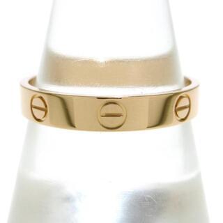 カルティエ(Cartier)のカルティエ リング 60美品  ミニラブ K18PG(リング(指輪))