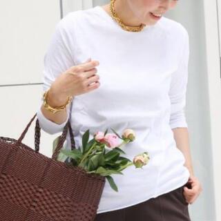 DEUXIEME CLASSE - ドゥーズィエムクラス Skew Tシャツ ホワイト 新品