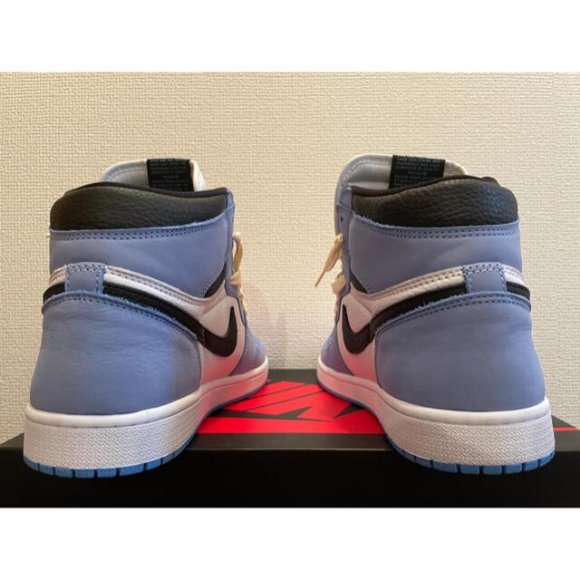"NIKE(ナイキ)のAIR JORDAN 1 HIGH OG ""UNIVERSITY BLUE"" メンズの靴/シューズ(スニーカー)の商品写真"