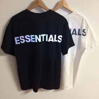 FEAR OF GOD - サイズL二枚セット反射光ロゴfog essentials Tシャツ