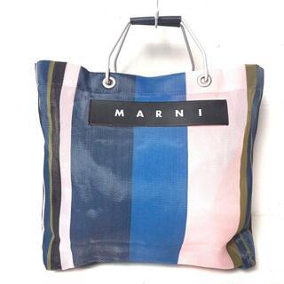 Marni - マルニ ハンドバッグ ストライプ 化学繊維