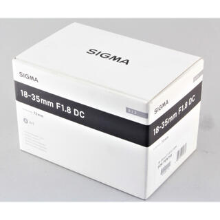 SIGMA - 未使用 SIGMA Art 18-35mm F1.8 DC HSM PENTAX
