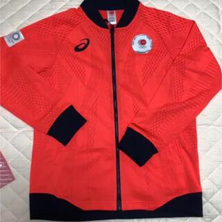 アシックス(asics)のオリンピック公式上衣Lサイズ開封のみ未使用品(記念品/関連グッズ)