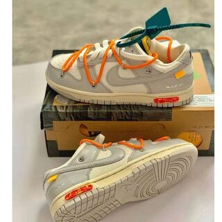 NIKE off-white ダンク Low The 50.19 26.5(スニーカー)