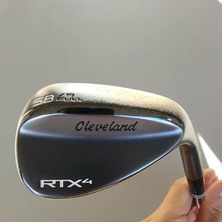 クリーブランドゴルフ(Cleveland Golf)のクリーブランドウェッジRTX4 ブラックサテンロフト角 58度(クラブ)