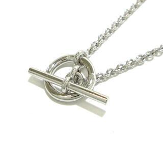 エルメス(Hermes)のエルメス ネックレス美品  グレナン K18WG(ネックレス)