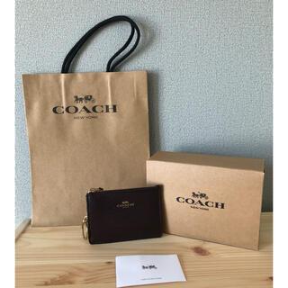 コーチ(COACH)のCOACH 【新品】コーチ キーケース コンパクト財布 定期・ID入れ(キーケース)