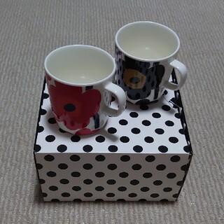 マリメッコ(marimekko)のmarimekko マグカップセット(グラス/カップ)