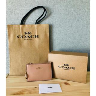コーチ(COACH)の【新品】COACH コーチ キーケース コンパクト財布 定期・ID入れ(キーケース)