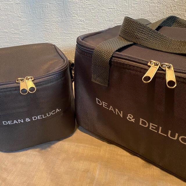 DEAN & DELUCA(ディーンアンドデルーカ)の【新品未使用】DEAN&DELUCA ディーン&デルーカ 保冷バッグ 2個セット インテリア/住まい/日用品のキッチン/食器(弁当用品)の商品写真