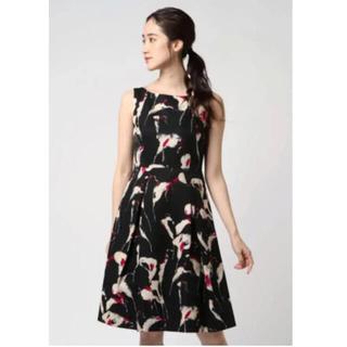 ANAYI - アナイ ワンピース 上品 タックワンピース 秋冬 ドレス