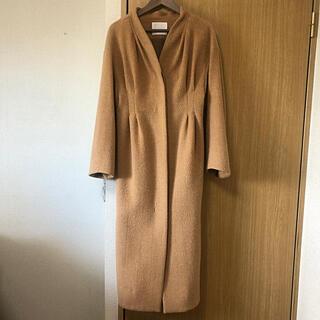 mame - mame 2018aw wool shaggy long coat 2