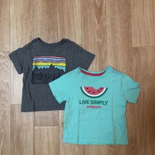 パタゴニア(patagonia)のパタゴニア 半袖 Tシャツ キッズ ベビー(Tシャツ)