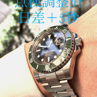 SEIKO - ★点検済 【約+5秒】セイコーNH36搭載 セイコーMOD 最新パーツ NH35