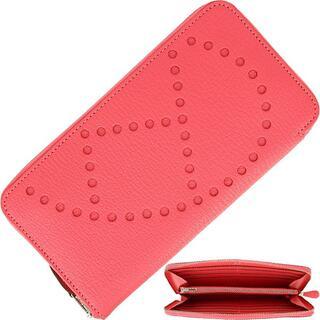 エルメス(Hermes)のHERMES 長財布 レディース 本革 ピンク エルメス 未使用 h-d467(財布)