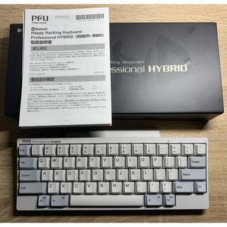 富士通 - HHKB Professional HYBRID 英語語配列/白