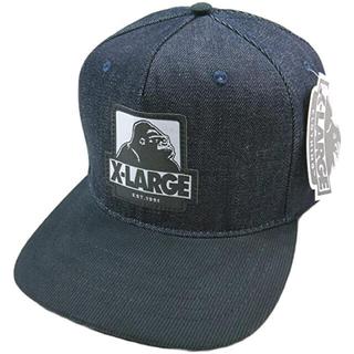 エクストララージ(XLARGE)の【X-LARGE】デニム地 ツートンカラー キャップ(キャップ)