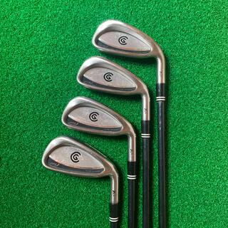 クリーブランドゴルフ(Cleveland Golf)のクリーブランド CG アイアン(#3〜6)ゴルフクラブ4本セット(クラブ)