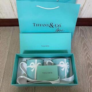 ティファニー(Tiffany & Co.)のティファニーのペアマグカップ(グラス/カップ)