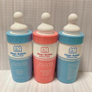 マジックバブル ブルー2本 ピンク1本 炭酸パック 韓国コスメ 大人気 (パック/フェイスマスク)