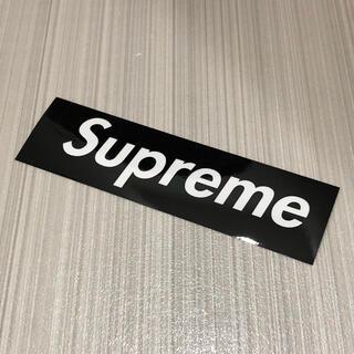 Supreme - Supreme BOXステッカー 黒 クリア 1枚