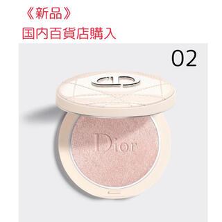 ディオール(Dior)のディオール スキンフォーエバー ルミナイザー 02 ピンクグロウ (フェイスカラー)