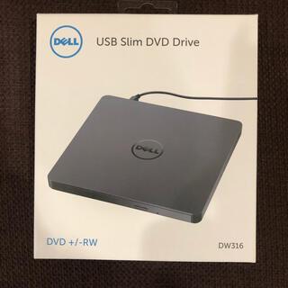 デル(DELL)の新品未使用品!DELL USBスリムDVDドライブ(PC周辺機器)