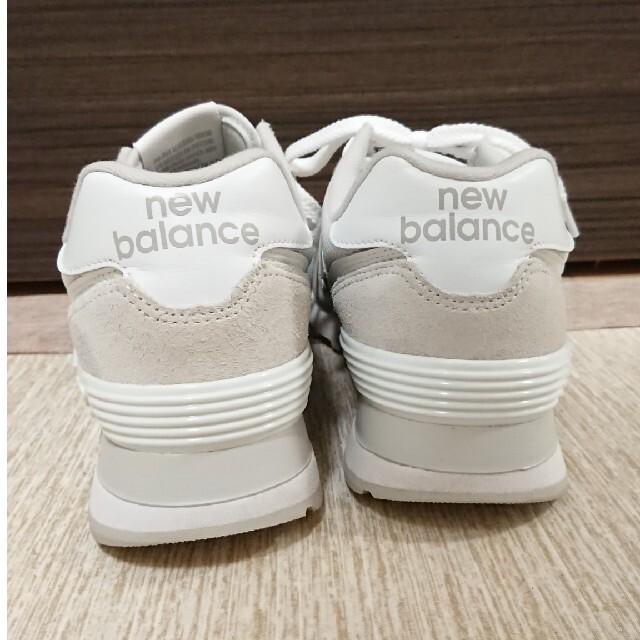 New Balance(ニューバランス)の美品 new balance ニューバランス ML574 レディーススニーカー レディースの靴/シューズ(スニーカー)の商品写真