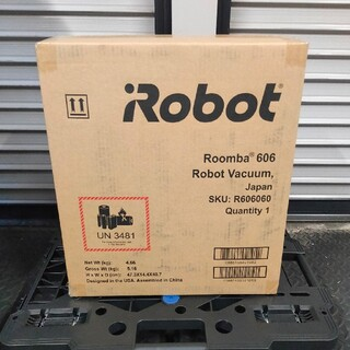 iRobot - 新品未開封!! 国内正規品 アイロボット ルンバ606 ロボット掃除機