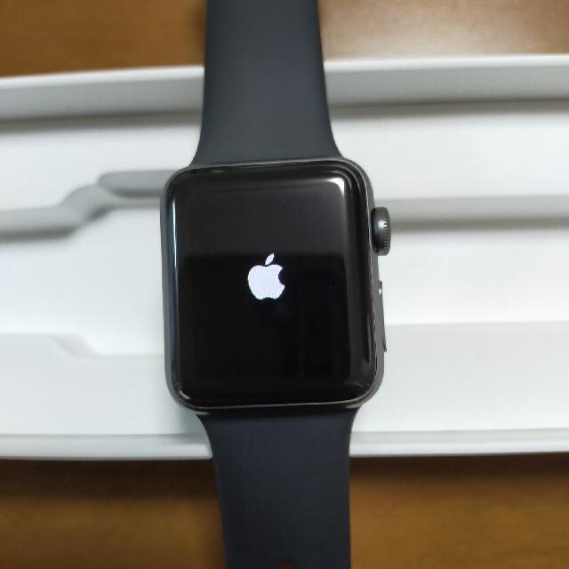 Apple Watch(アップルウォッチ)のApple Watch Series 3  38mm メンズの時計(腕時計(デジタル))の商品写真