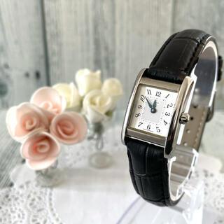 コーチ(COACH)の【動作OK】COACH 腕時計 コーチ スクエア レディース シルバー(腕時計)