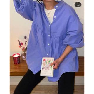 SeaRoomlynn - コットンWASHギャザーシャツ シールームリン